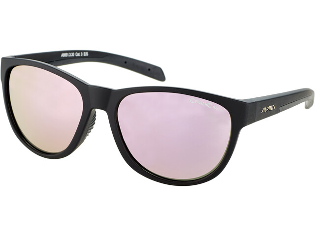 Alpina Nacan II Okulary, black matt/rose-gold mirror